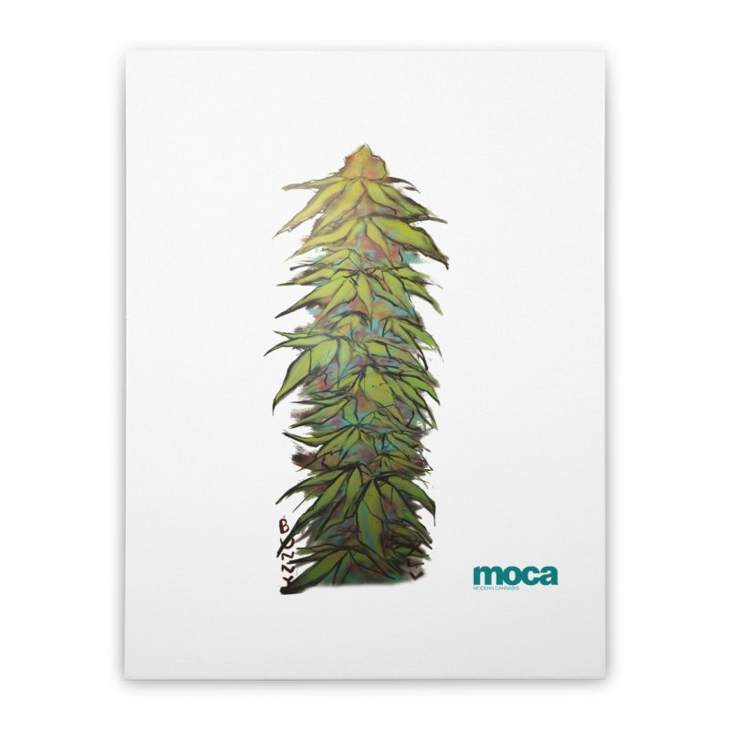 Bunny XLV Home Stretched Canvas by MOCA