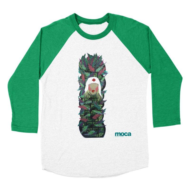 Camillo Women's Baseball Triblend Longsleeve T-Shirt by MOCA