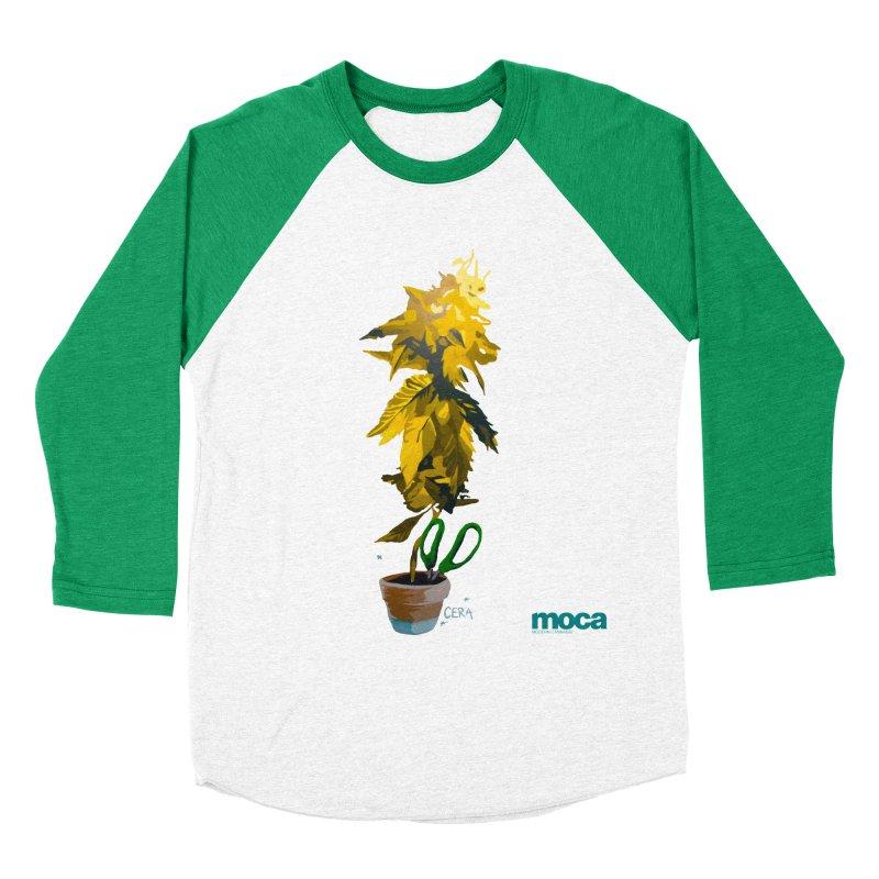 Cera Women's Baseball Triblend Longsleeve T-Shirt by MOCA
