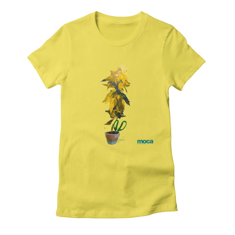 Cera Women's Fitted T-Shirt by MOCA