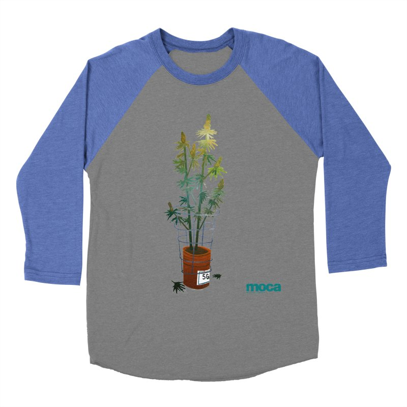 Ethan Stuart Women's Baseball Triblend Longsleeve T-Shirt by MOCA