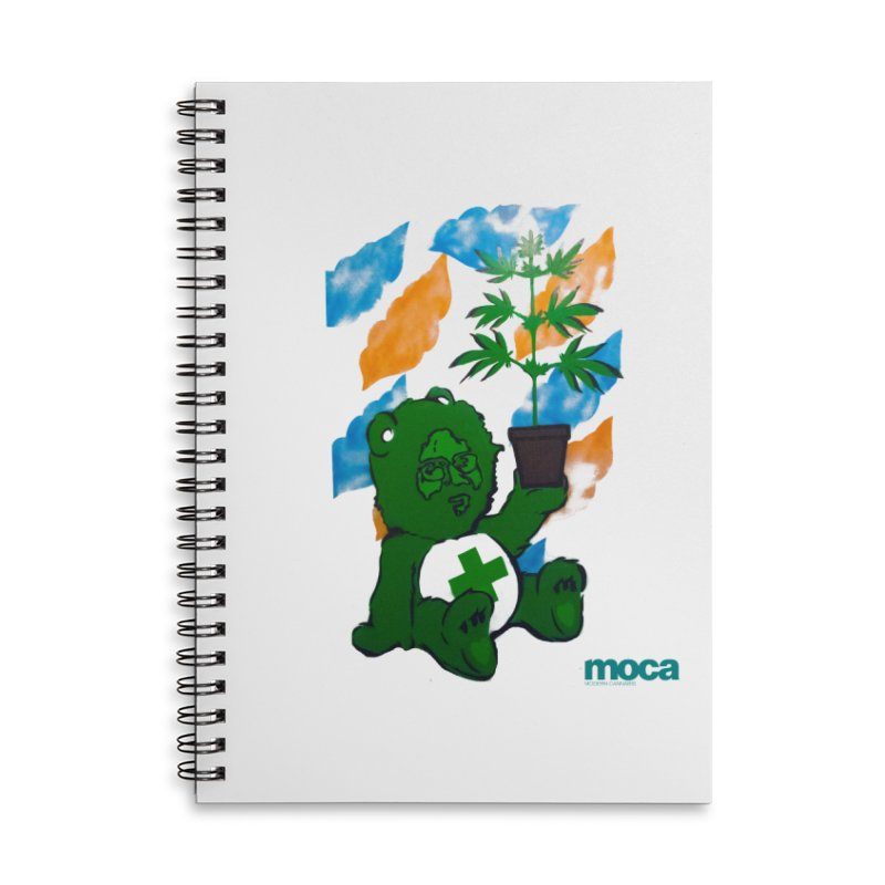 Glass Cuisine Accessories Lined Spiral Notebook by MOCA