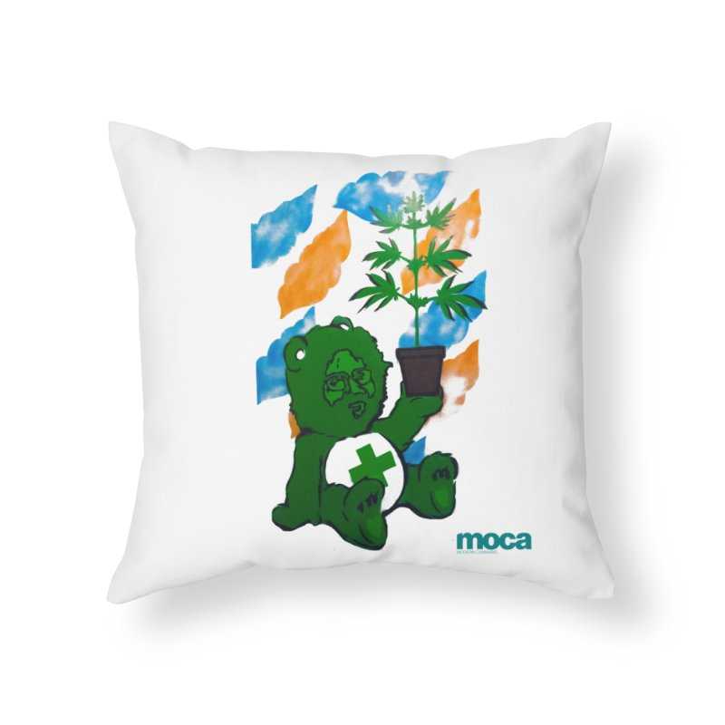 Glass Cuisine Home Throw Pillow by MOCA