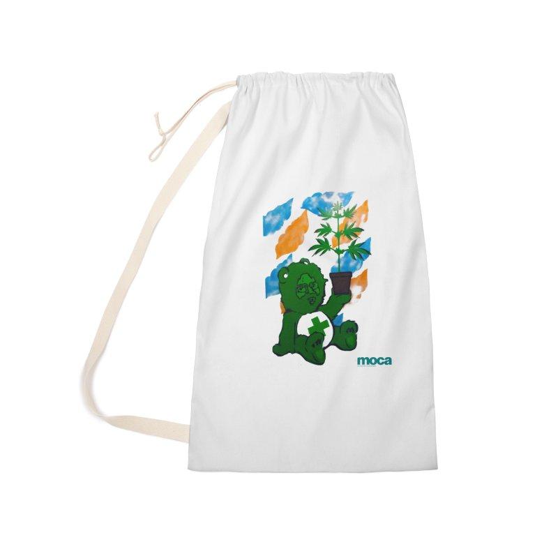 Glass Cuisine Accessories Laundry Bag Bag by MOCA