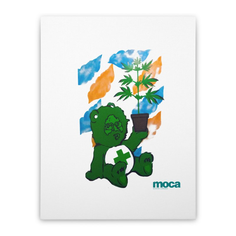 Glass Cuisine Home Stretched Canvas by MOCA
