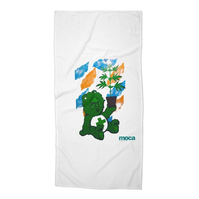 Glass Cuisine Accessories Beach Towel by MOCAshop's Artist Shop