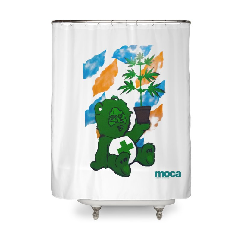 Glass Cuisine Home Shower Curtain by MOCA