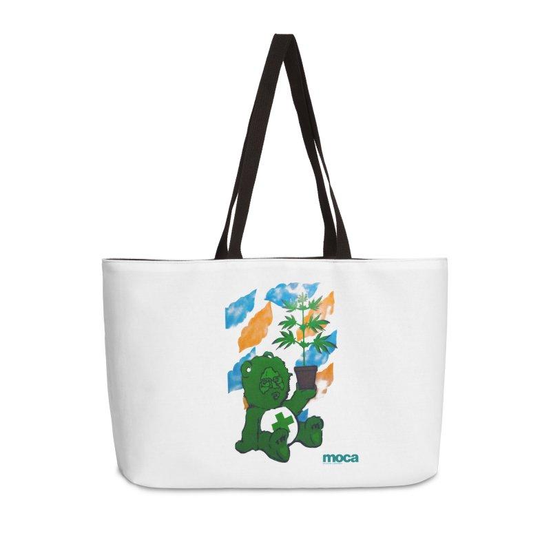 Glass Cuisine Accessories Weekender Bag Bag by MOCA