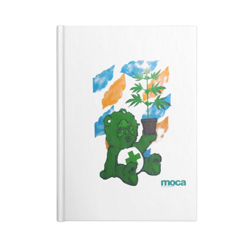 Glass Cuisine Accessories Lined Journal Notebook by MOCA