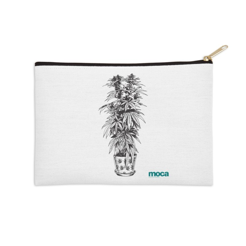 Jourdon Accessories Zip Pouch by MOCAshop's Artist Shop