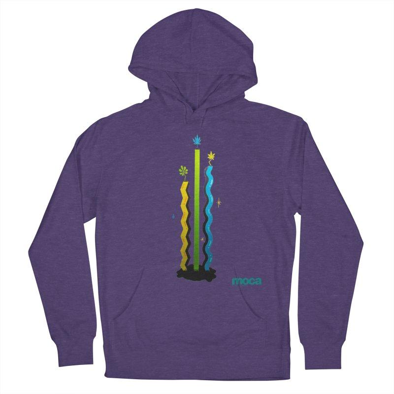 Louie C Men's French Terry Pullover Hoody by MOCA