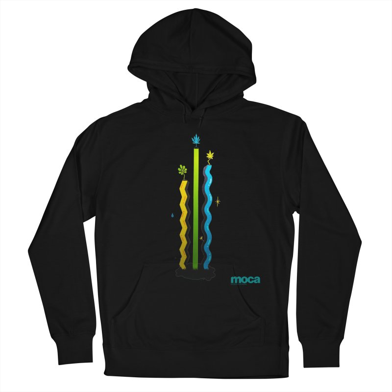 Louie C Men's French Terry Pullover Hoody by MOCAshop's Artist Shop