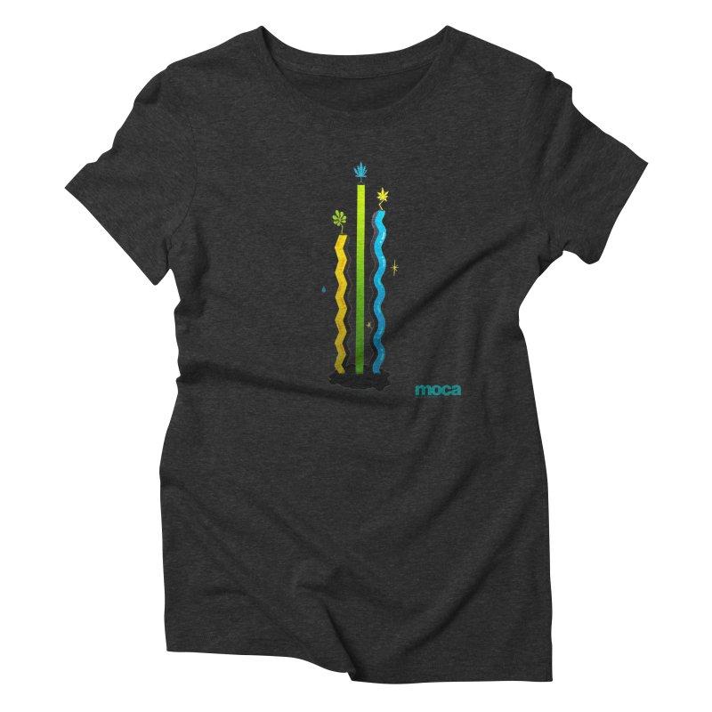 Louie C Women's Triblend T-Shirt by MOCA