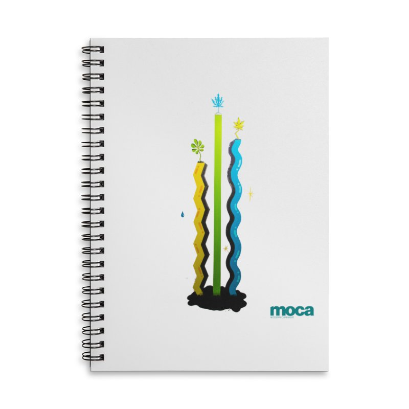 Louie C Accessories Lined Spiral Notebook by MOCA