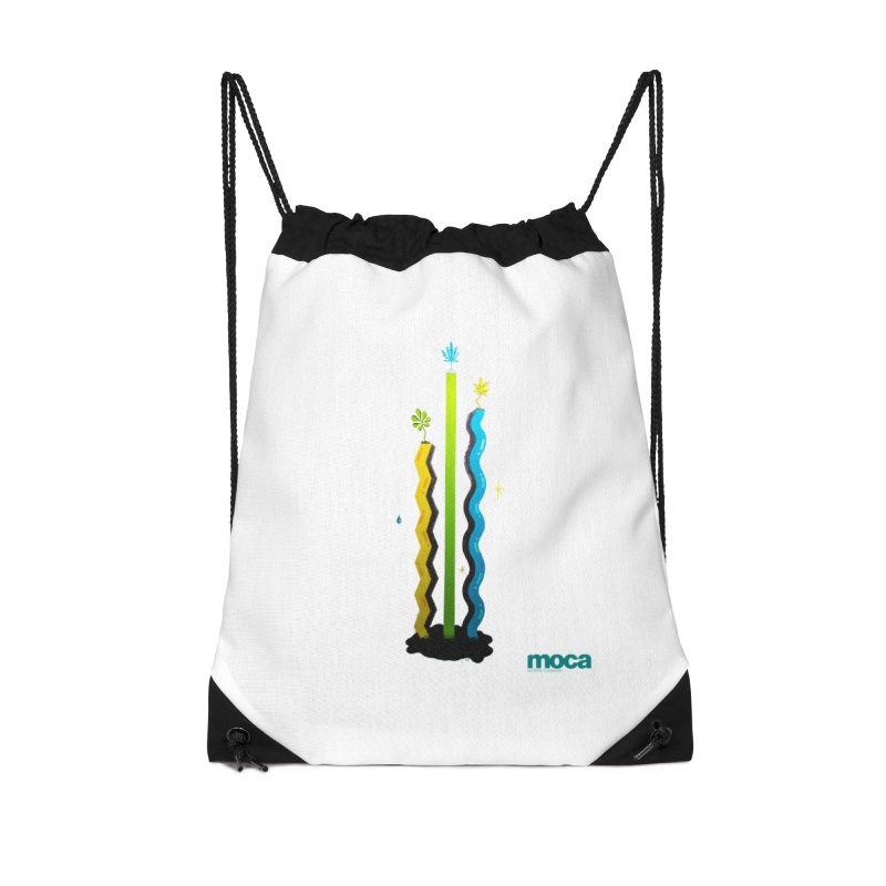 Louie C Accessories Drawstring Bag Bag by MOCA