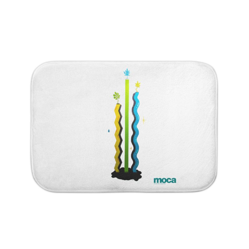 Louie C Home Bath Mat by MOCAshop's Artist Shop