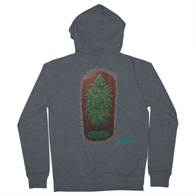 McCullough Men's French Terry Zip-Up Hoody by MOCAshop's Artist Shop