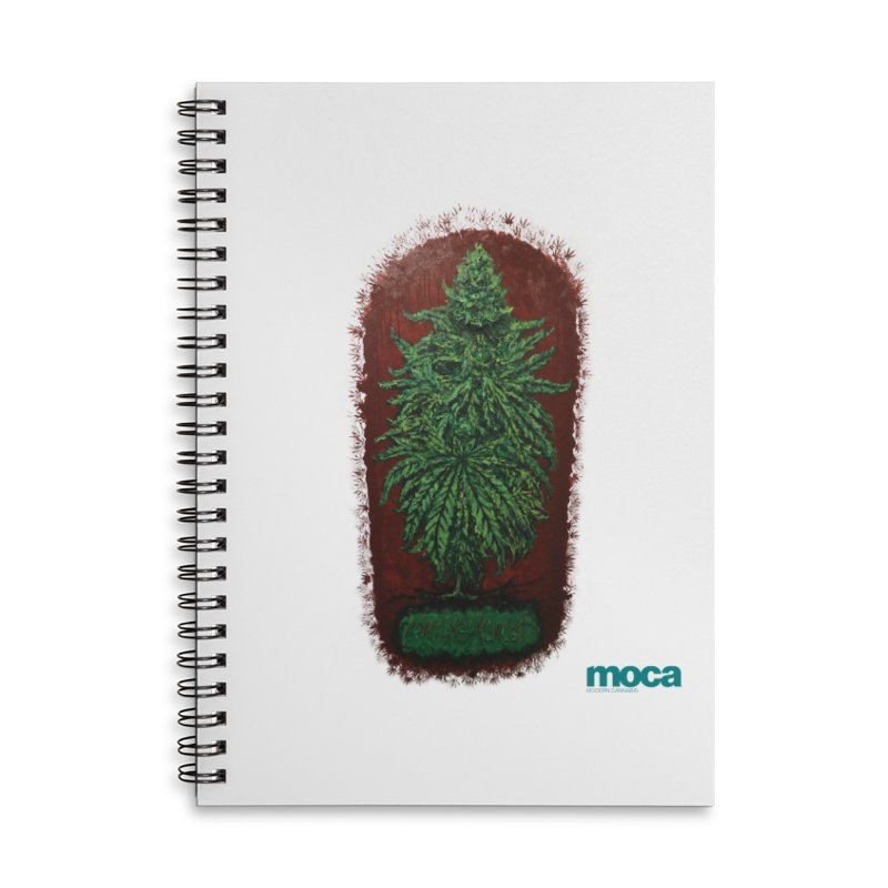 McCullough Accessories Lined Spiral Notebook by MOCA