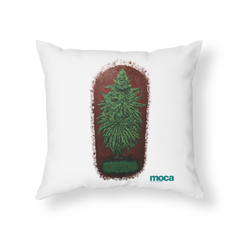 McCullough Home Throw Pillow by MOCA