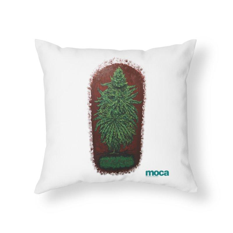 McCullough Home Throw Pillow by MOCA
