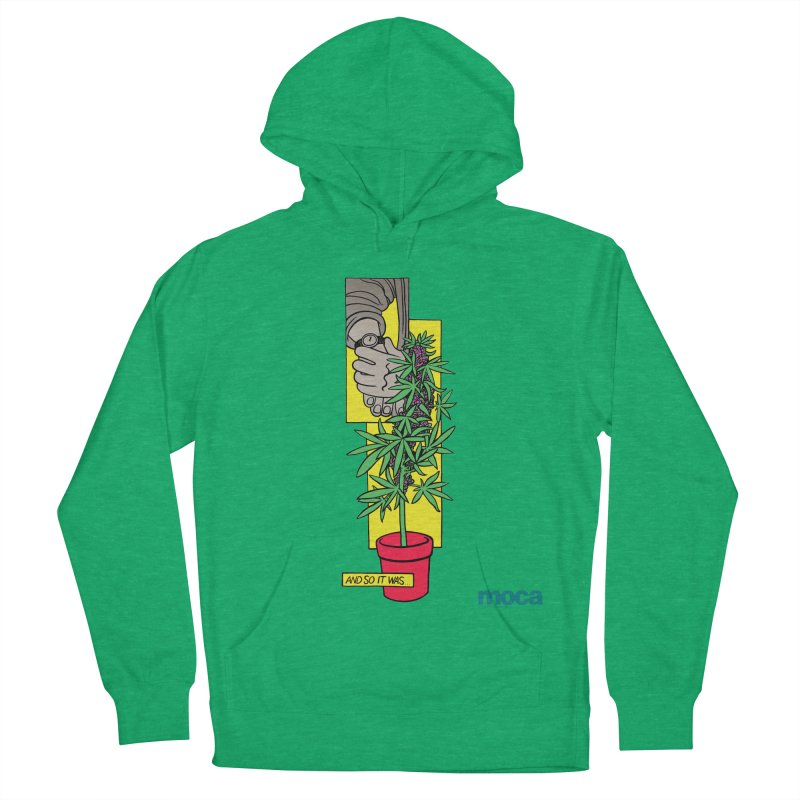 Mosher Show Men's French Terry Pullover Hoody by MOCAshop's Artist Shop