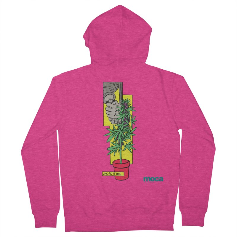 Mosher Show Women's French Terry Zip-Up Hoody by MOCAshop's Artist Shop