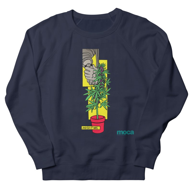 Mosher Show Women's French Terry Sweatshirt by MOCAshop's Artist Shop