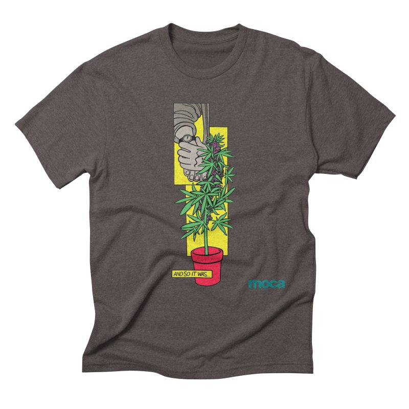 Mosher Show Men's Triblend T-Shirt by MOCA