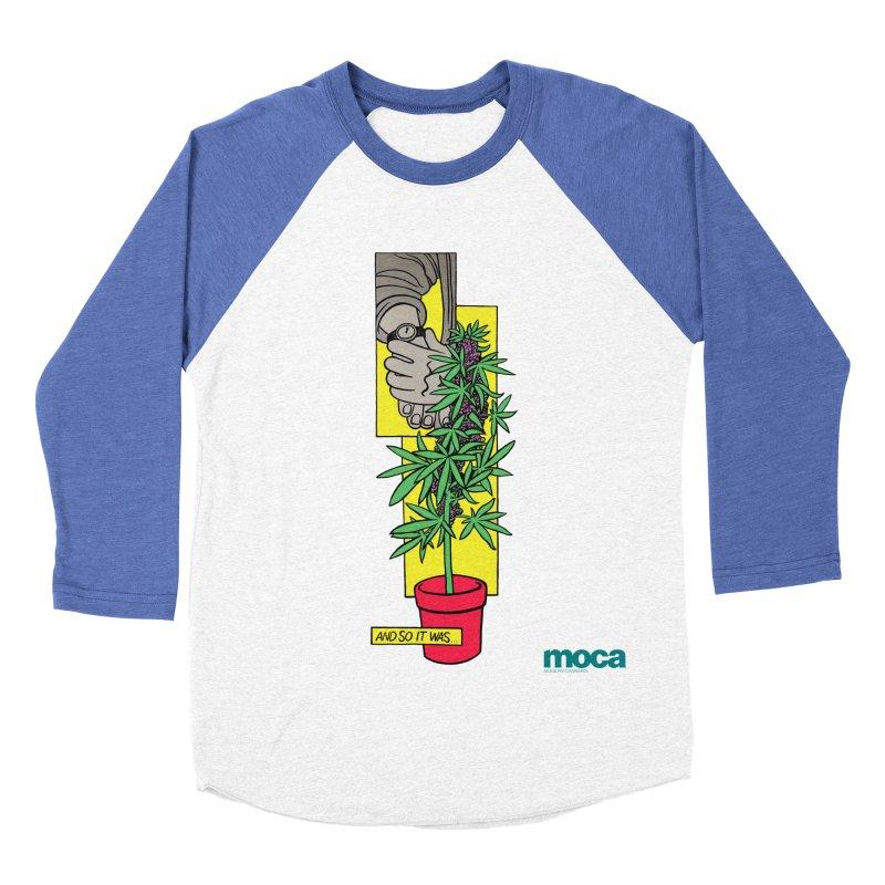 Mosher Show Women's Baseball Triblend Longsleeve T-Shirt by MOCAshop's Artist Shop