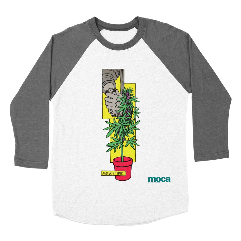 Mosher Show Men's Baseball Triblend Longsleeve T-Shirt by MOCA