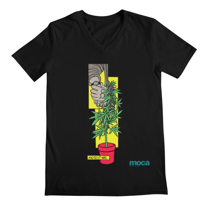 Mosher Show Men's V-Neck by MOCA