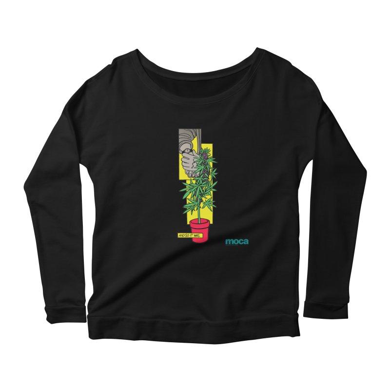 Mosher Show Women's Scoop Neck Longsleeve T-Shirt by MOCAshop's Artist Shop