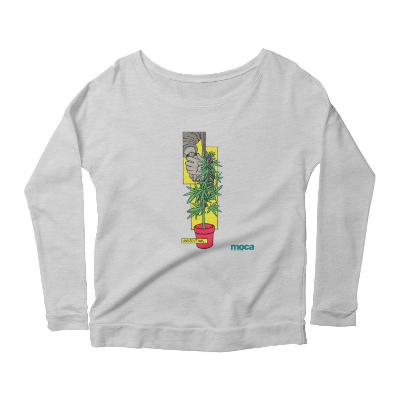 Mosher Show Women's Scoop Neck Longsleeve T-Shirt by MOCA