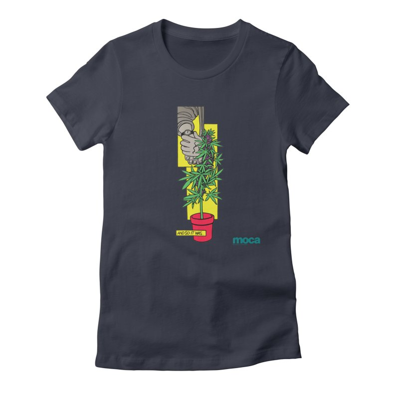 Mosher Show Women's Fitted T-Shirt by MOCAshop's Artist Shop