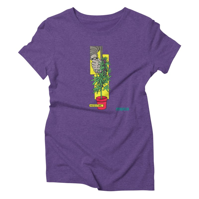 Mosher Show Women's Triblend T-Shirt by MOCAshop's Artist Shop