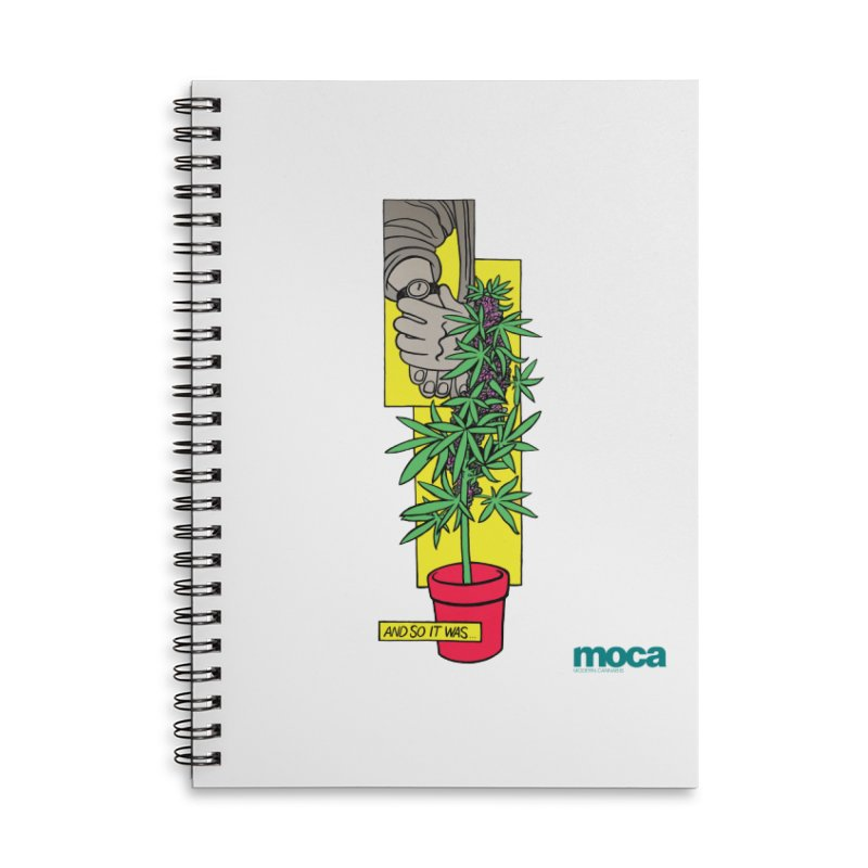 Mosher Show Accessories Lined Spiral Notebook by MOCA