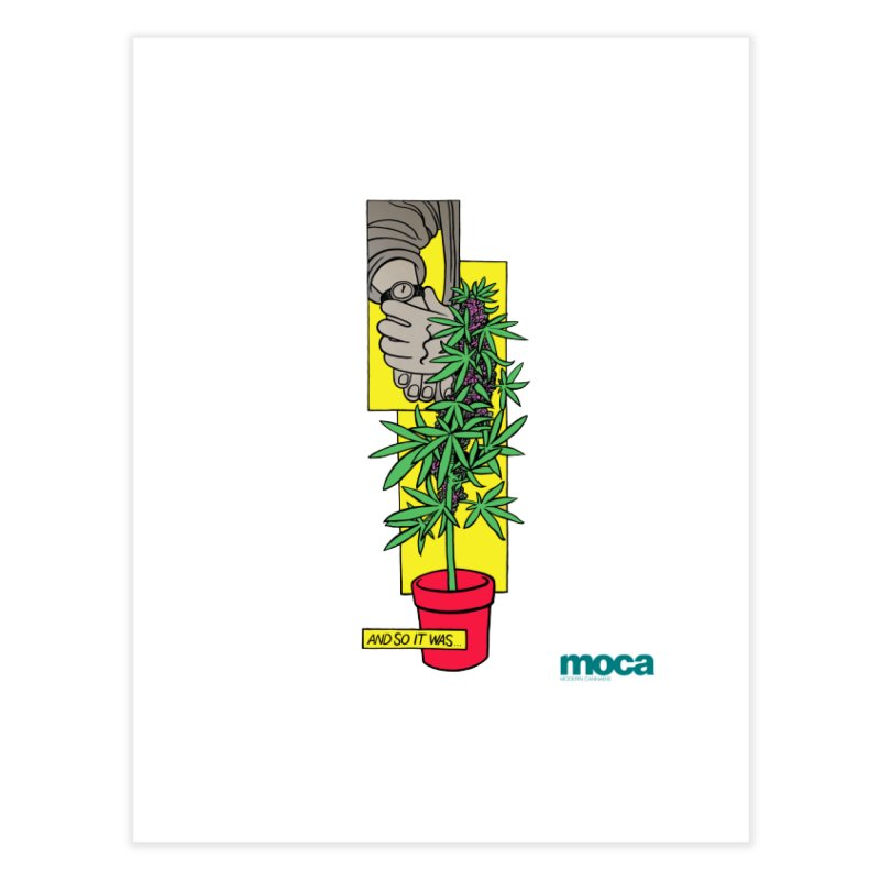 Mosher Show Home Fine Art Print by MOCA