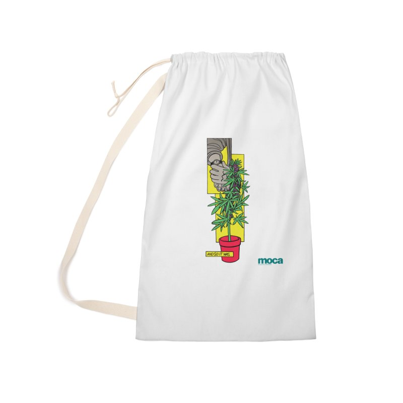 Mosher Show Accessories Laundry Bag Bag by MOCA