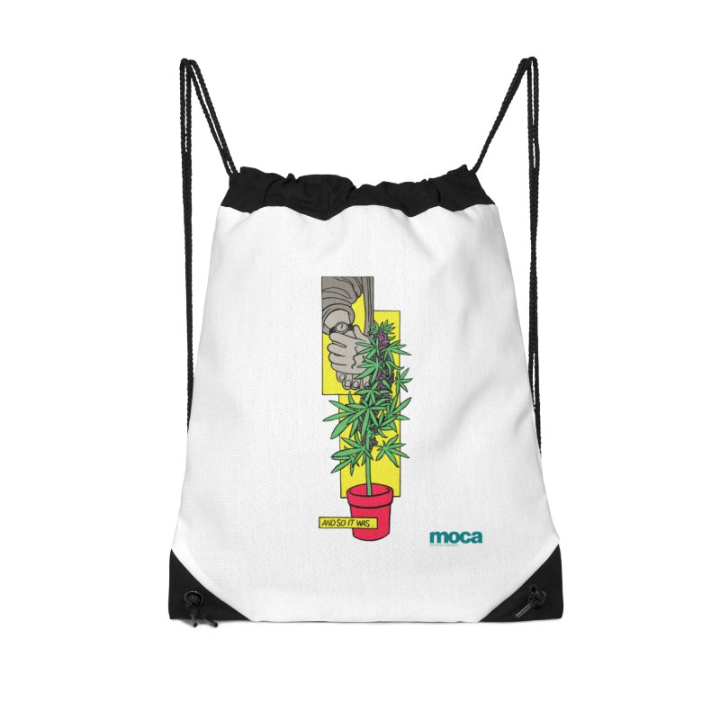 Mosher Show Accessories Drawstring Bag Bag by MOCA