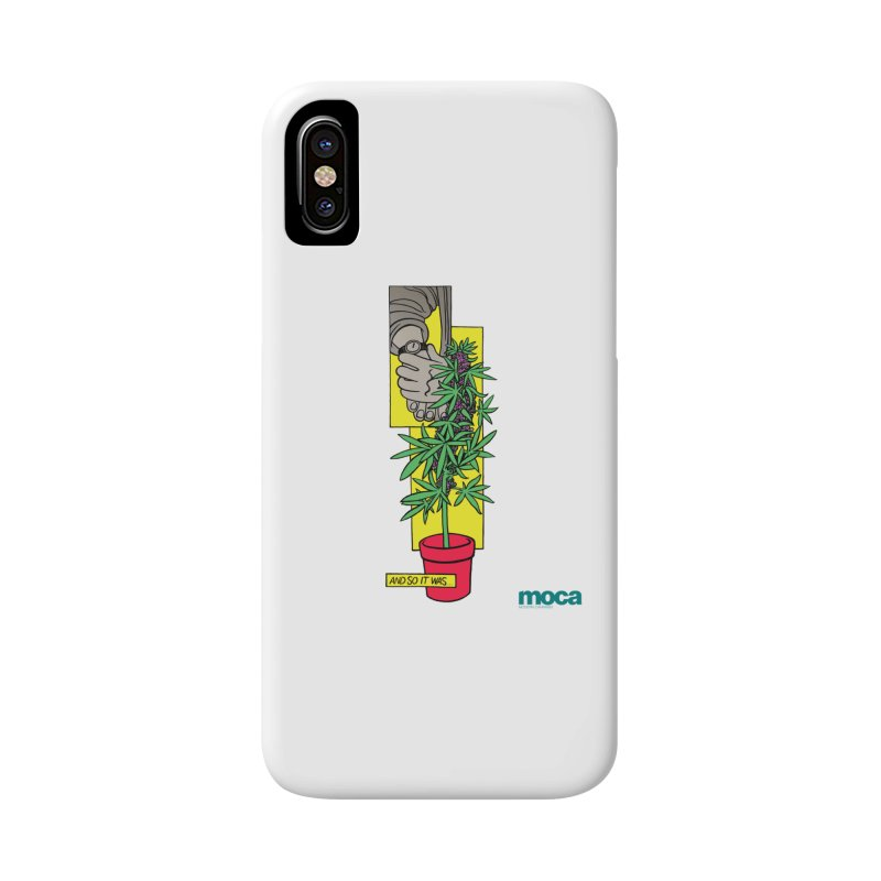 Mosher Show Accessories Phone Case by MOCAshop's Artist Shop
