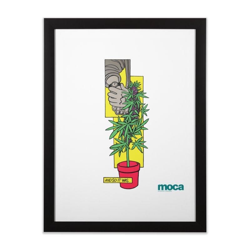 Mosher Show Home Framed Fine Art Print by MOCA