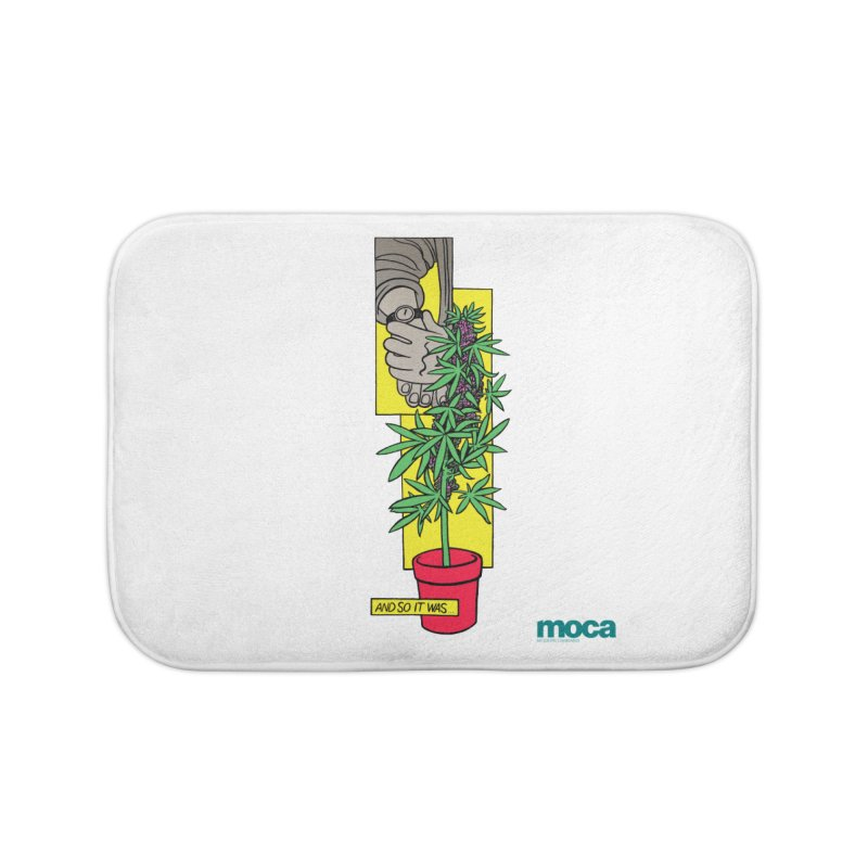 Mosher Show Home Bath Mat by MOCAshop's Artist Shop