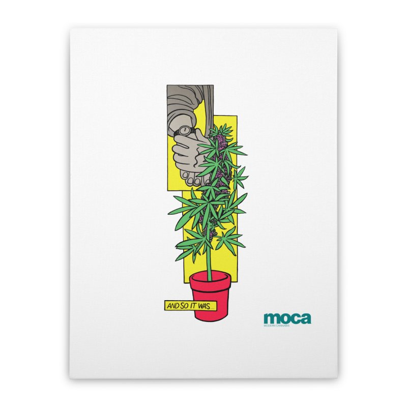 Mosher Show Home Stretched Canvas by MOCAshop's Artist Shop
