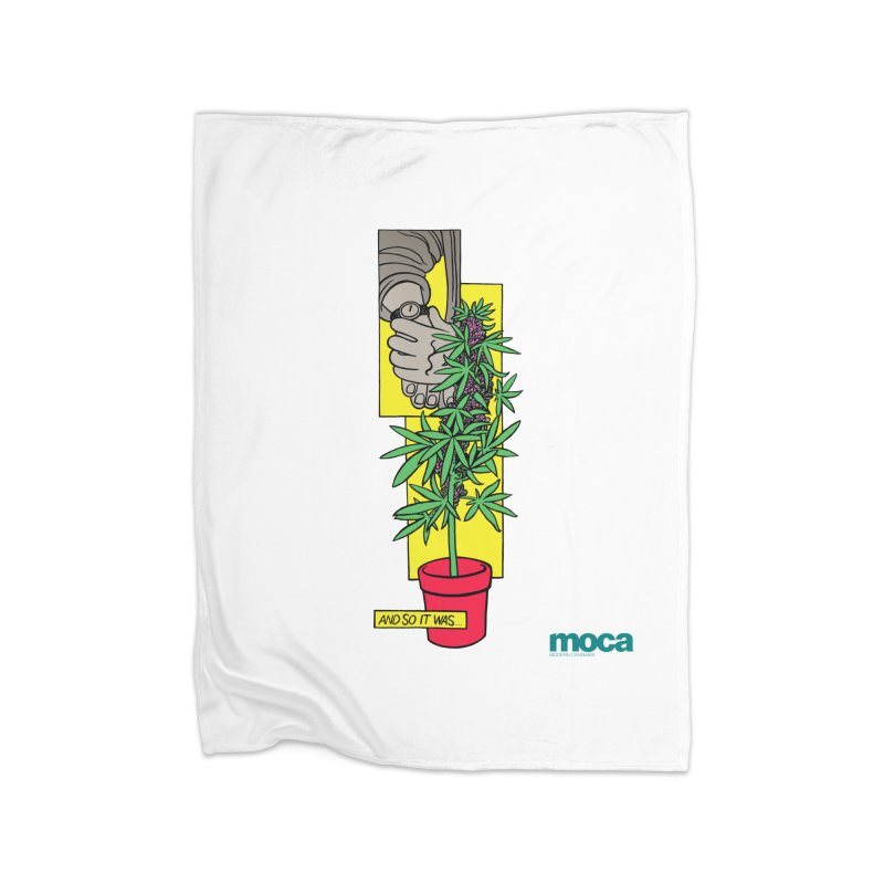 Mosher Show Home Fleece Blanket Blanket by MOCA