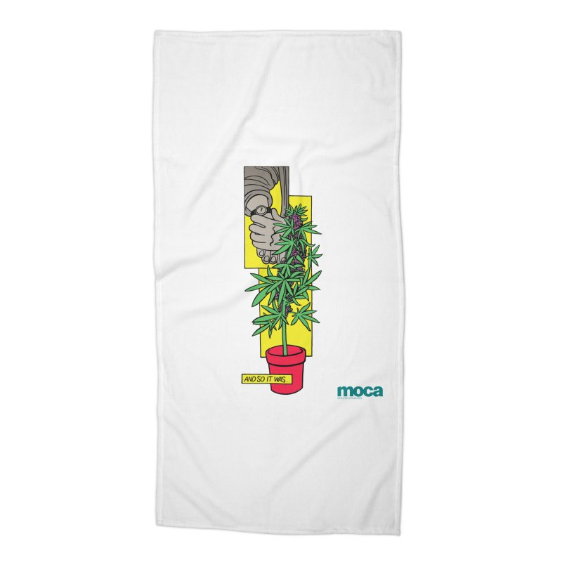 Mosher Show Accessories Beach Towel by MOCAshop's Artist Shop