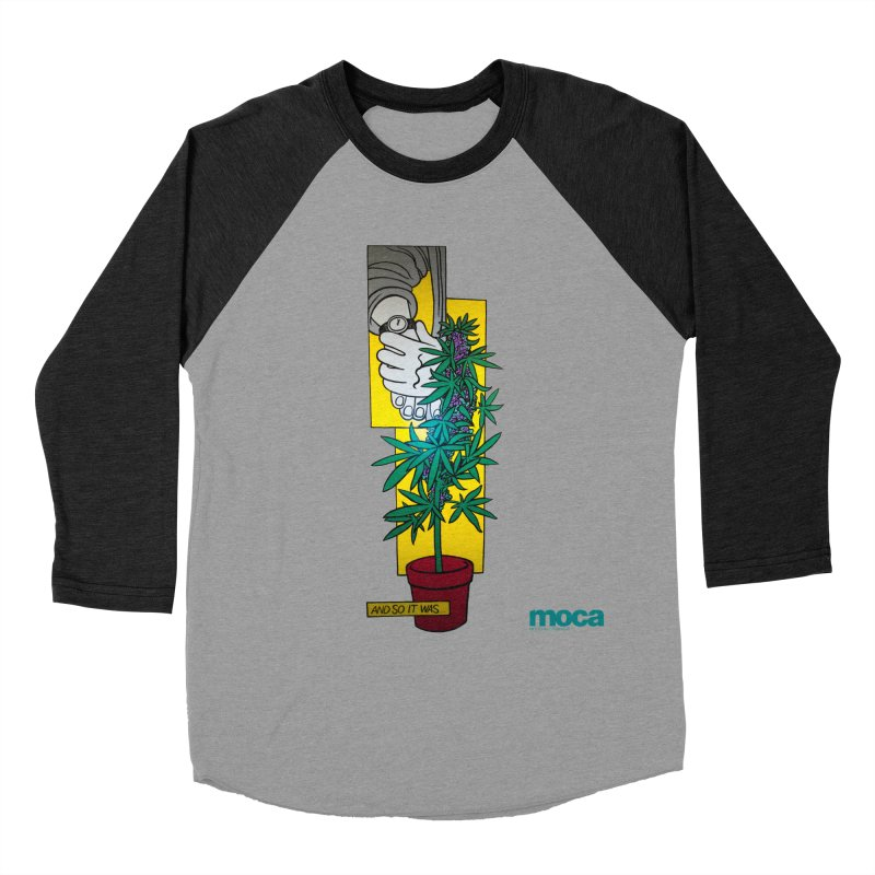 Mosher Show Men's Baseball Triblend T-Shirt by MOCAshop's Artist Shop
