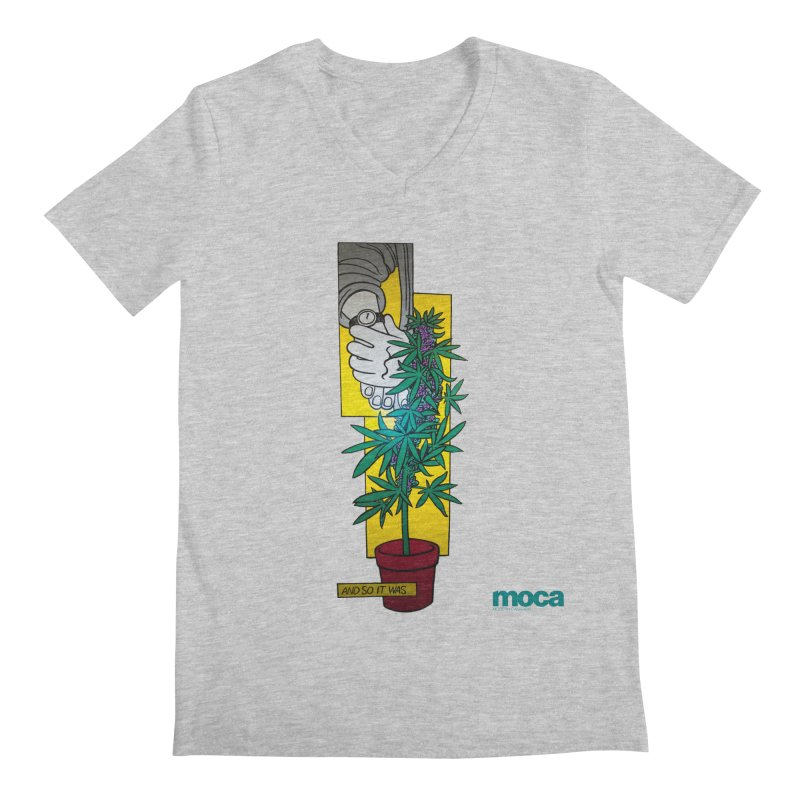 Mosher Show Men's V-Neck by MOCAshop's Artist Shop