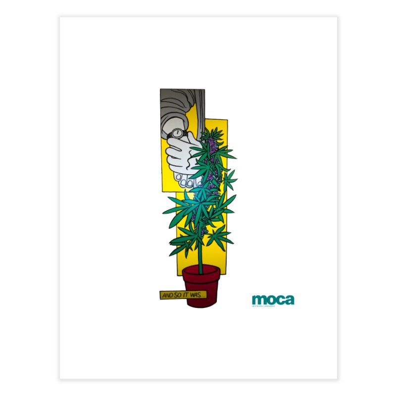 Mosher Show Home Fine Art Print by MOCAshop's Artist Shop