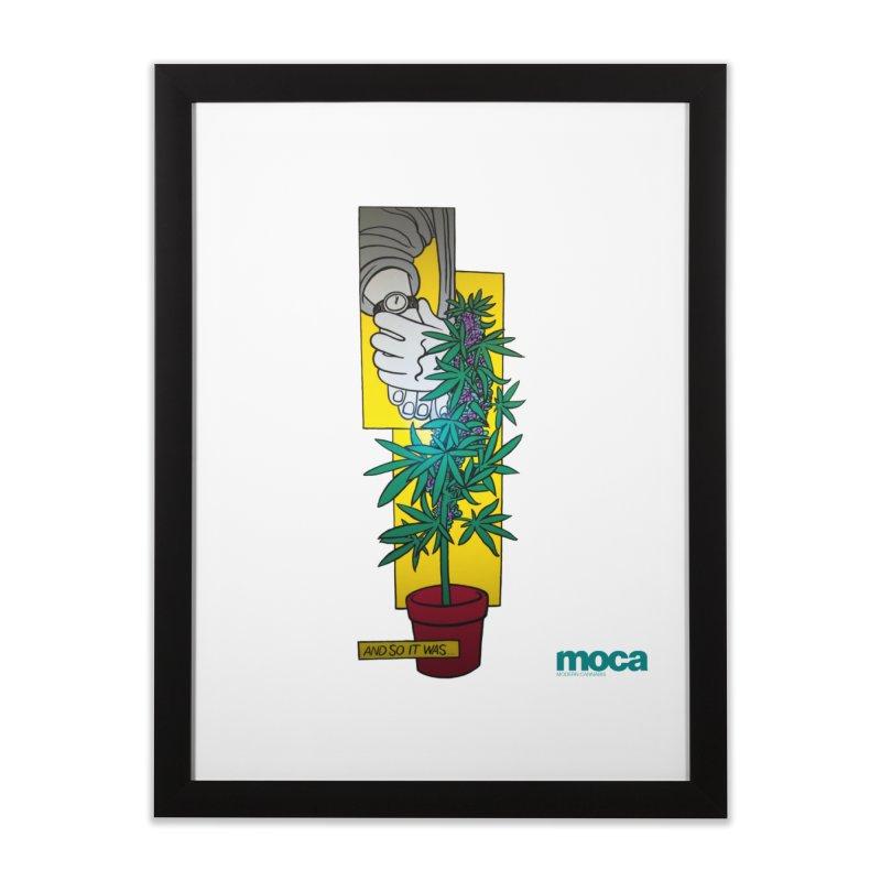 Mosher Show Home Framed Fine Art Print by MOCAshop's Artist Shop