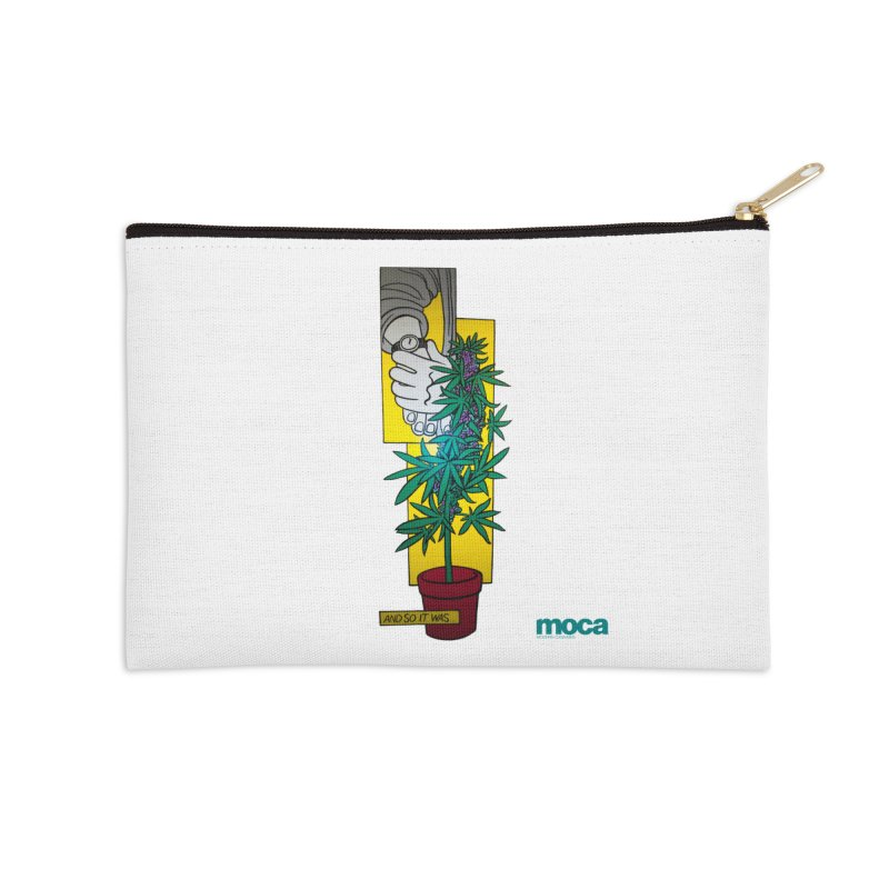 Mosher Show Accessories Zip Pouch by MOCAshop's Artist Shop